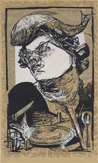 art in a state of grace (from art in a state of siege) by william kentridge