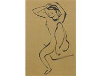 untitled (nude) by isamu noguchi