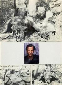 autoportrait (hog ranch) by peter beard
