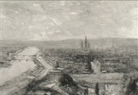 rouen by francis abel william taylor armstrong