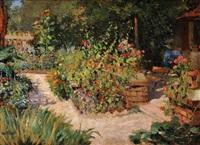 jardin en fleurs by louis abel-truchet