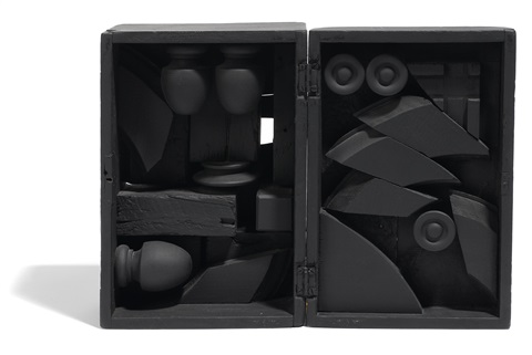 rain garden cryptic xli by louise nevelson