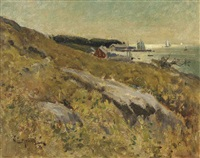 new england coast by willard leroy metcalf