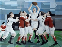 rugby : la touche by karl gustavsen