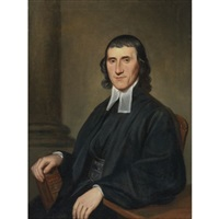 portrait of a clergyman by charles willson peale