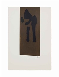 primal sign ii by robert motherwell