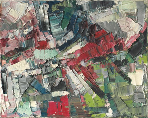 temps léger by jean paul riopelle