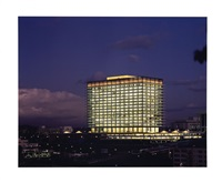 richfield wilshire building, los angeles by julius shulman