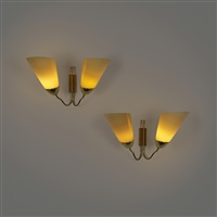 sconces (pair) by mauri almari