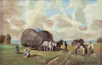 heuernte by wilhelm von battlehner