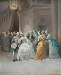 conversations galantes by léonard saurfelt