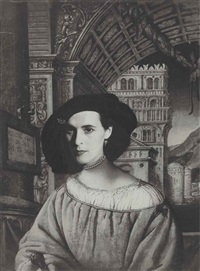 portrait of leonora carrington by kati horna