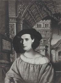 portrait of leonora carrington by kati horna