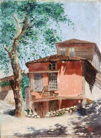 old house by ahmet ziya akbulut