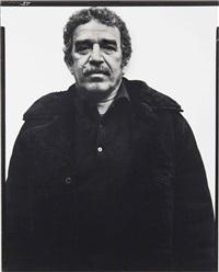 gabriel garcia marquez, writer, new york city by richard avedon