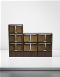 sad 29 modular bookcase, model no. 2431nr by émile jacques ruhlmann