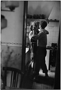 robert and mary frank, valencia, spain by elliott erwitt