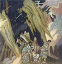 seminoles by eugene francis savage