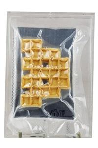 space waffle gauffre plastifiée, mise sous by invader