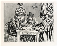 les joueur des cartes by paul cézanne