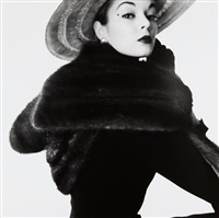 dior fur scarf (jean patchett), new york by irving penn