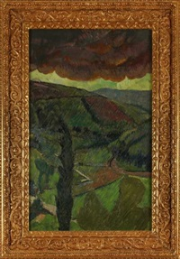 la pluie by paul sérusier