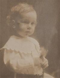 portrait of a child by gertrude kasebier