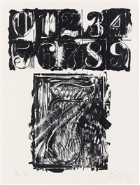 artwork 7 by jasper johns