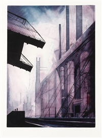 factory by eyvind earle