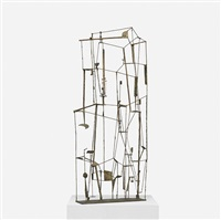important early wire construction by harry bertoia