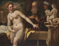 the bather by domenico tintoretto