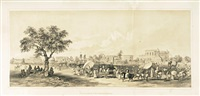 views of calcutta and its environs (bk w/25 works & title, folio) by charles (sir) d'oyly
