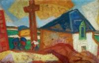 calvaire de saint-cado by yves alix