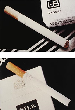 untitled cigarettes set of 2 by richard prince