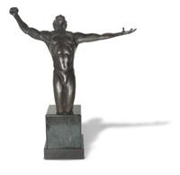 kneeling man by tina allen