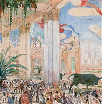 l'exposition universelle et internationale gand by jules de bruycker