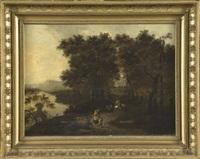 paysage animé by pieter jansz van asch