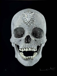 for the love of god - wonder by damien hirst