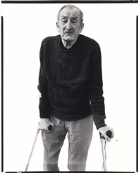 alexey brodovitch, graphic designer, le thor,france 10-2-69 by richard avedon
