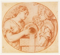rebecca at the well by theodor van thulden