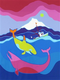 whale frolic by ted harrison