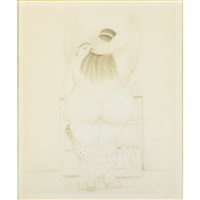 untitled (2 works) by fernando botero