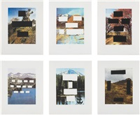 country cityscapes (suite of 6) by ed ruscha