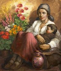 květinářka by josef (kamenitzky) steiner