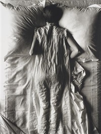 girl in bed (jean patchett), new york by irving penn