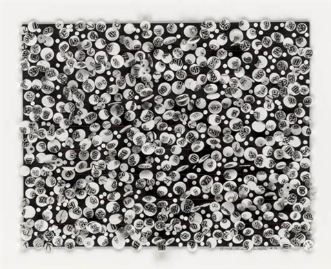 untitled 16 by howardena pindell