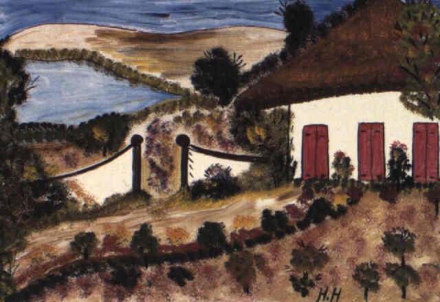 la maison au jardin by hector hyppolite