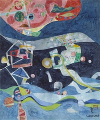 danse dans le cosmos by shoichi hasegawa