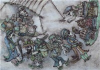 karagöz pazarda by nuri abac
