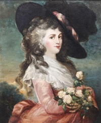 portrait of a lady by gainsborough dupont
